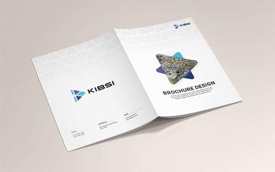 Företagets broschyrdesignmall