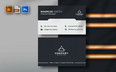 Tarjeta de visita multiusos | Volumen: 34 - Plantilla de identidad corporativa