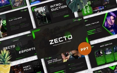 Zecto - Кіберспорт Ігри Powerpoint