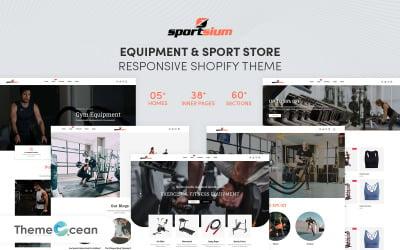 Sportsium - Equipment And Sport Store Shopify Theme