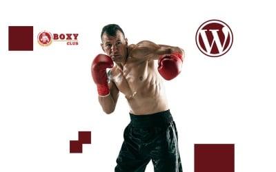 Tema WordPress Boxy Boxing e artes marciais