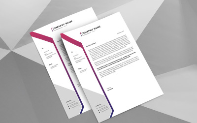 Jone A4 Letterhead Corporate Identity Template