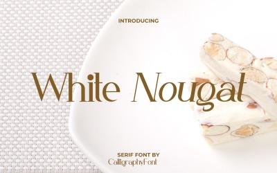 Класичний шрифт White Nougat Serif