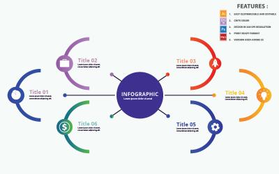 Diagram Infographic Vector Design Template