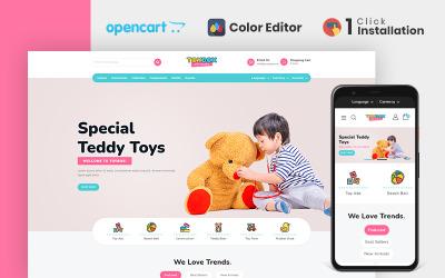 Toybox Clothing & Toys Store Opencart Theme