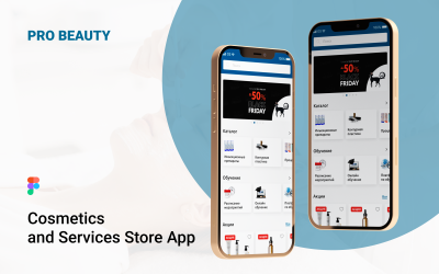 Mobile Application Pro Beauty Ui Kit Figma And Photoshop