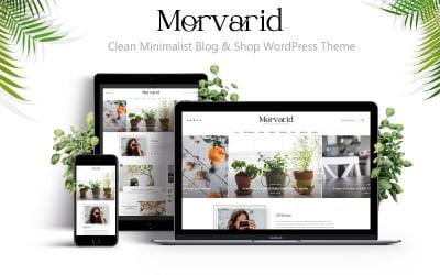 Morvarid - Clean Minimalist Blog & Shop WordPress Theme