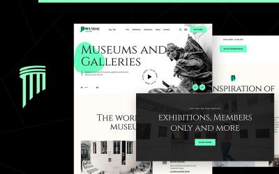 Вандау | Музей мистецтв та історії WordPress Тема