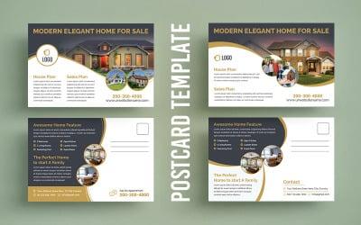 Business Realestate Postcard Designs