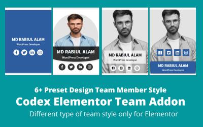 Codex Team - WordPress Elementor Addons Plugins