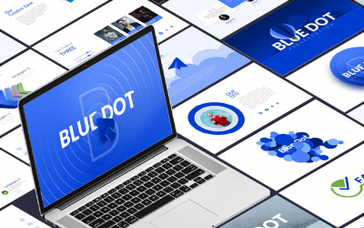 Blue Dot-Business Infographic PowerPoint-Presentation