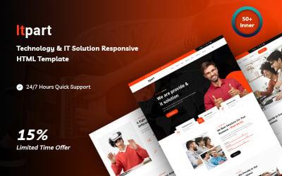 Itpart - Technology & IT Solution HTML5 Website Template