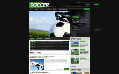 Modello di calcio Drupal