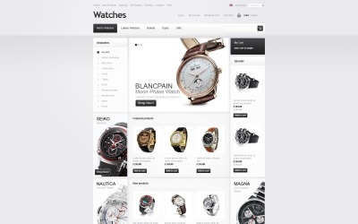 Watches for Any Taste ZenCart Template