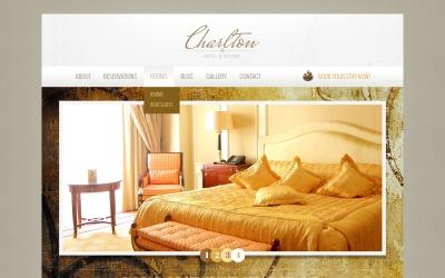 Modelo Drupal de negócios de hotéis e resorts