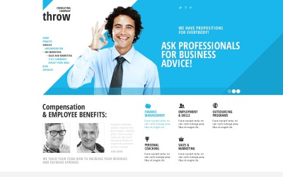 Blue Consulting Joomla Template