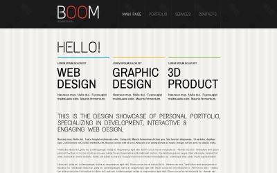 Студія креативного дизайну Drupal шаблон