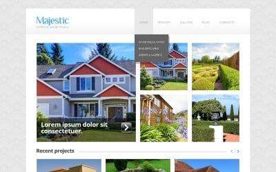 Magic Exterior Design WordPress Theme
