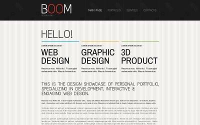 Szablon Creative Design Studio Drupal