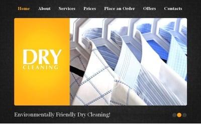 Laundry Moto CMS HTML Template