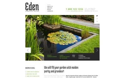 Landscape Design Responsive Website Template