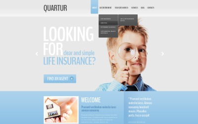 Management Company Website Template