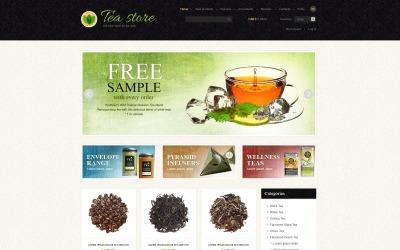 Teeladen ZenCart Vorlage