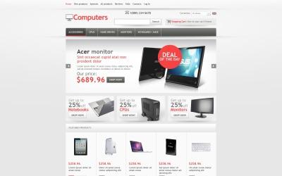 High-tech Computers ZenCart Template