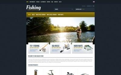 Fishing Expert ZenCart Template