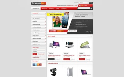 Complete Computers Store VirtueMart Template