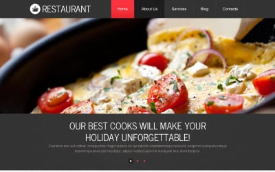 European Cuisine Drupal Template