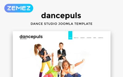 Dancepuls - Responzivní čistá šablona Joomla tanečního studia
