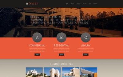 Real Estate Drupal Template