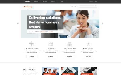 IT-vállalat WordPress-témája