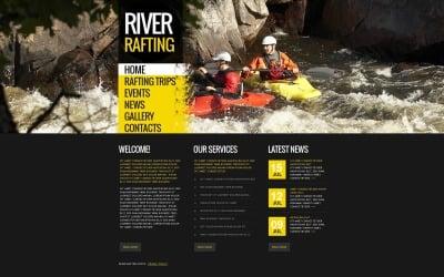 Rafting Moto CMS HTML Template