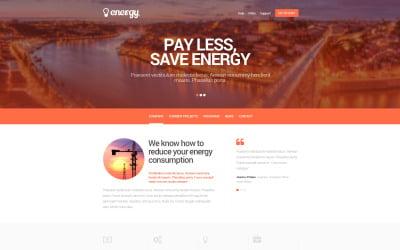 Lighting & Electricity Responsive Website Template