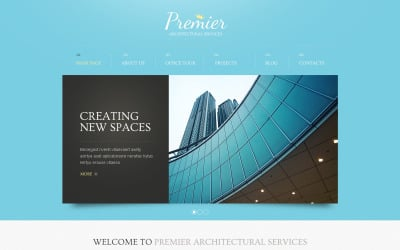 Architecture Solutions Drupal Template