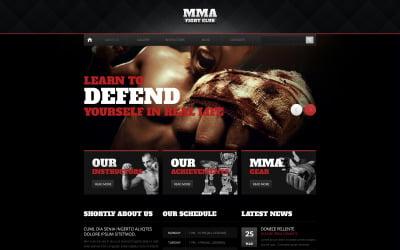 Shocking Martial Arts Drupal Template