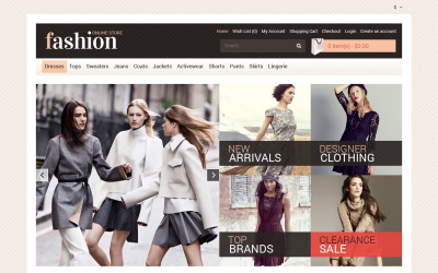 Your Fashion Store OpenCart Template