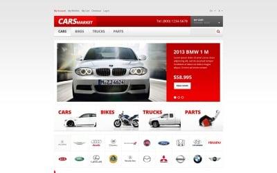 Car Dealer Responsive Magento Theme