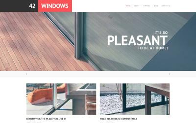 Адаптивна тема WordPress для вікон