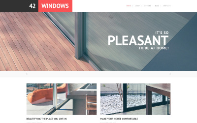 Tema WordPress responsivo à janela
