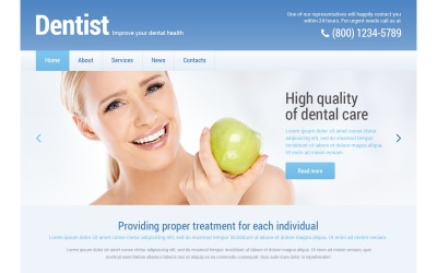 Tandheelkunde Responsive WordPress Theme