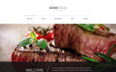 Steak Club Drupal Template
