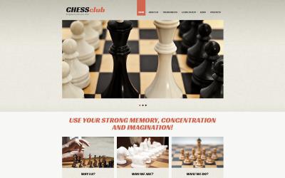 Modelo de Joomla responsivo de xadrez