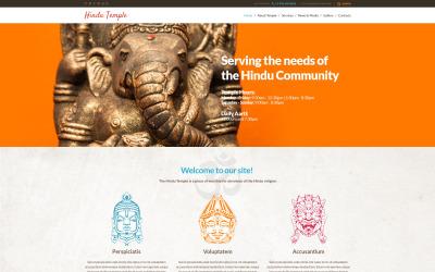 Tema WordPress reattivo dell'induismo
