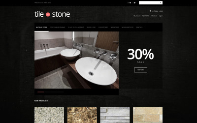 Tile Stone Store Tema Magento