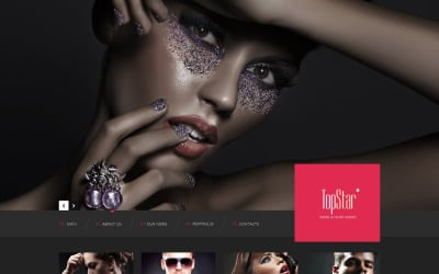 Model Agency Responsive Website Template