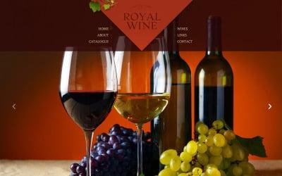 Wine Website Template