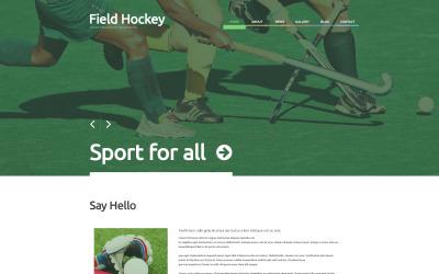 Адаптивна тема для хокею WordPress